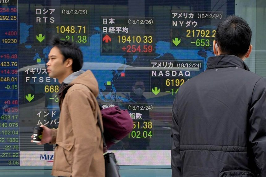 Trade was subdued with many of the region's markets closed for the Chinese New Year. China's financial markets are closed all week, while those in South Korea are shut until Feb 7.