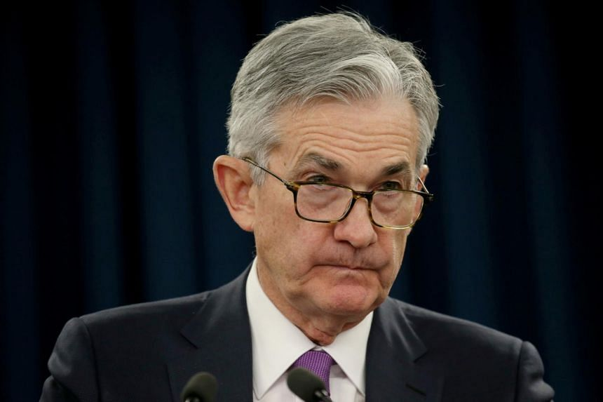 Federal Reserve Chairman Jerome Powell holds a press conference following a two day Federal Open Market Committee policy meeting in Washington, on Jan 30, 2019.