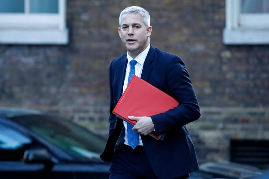 Britain's Brexit minister Stephen Barclay arrives for a meeting at 10 Downing street in London, on Jan 22, 2019.