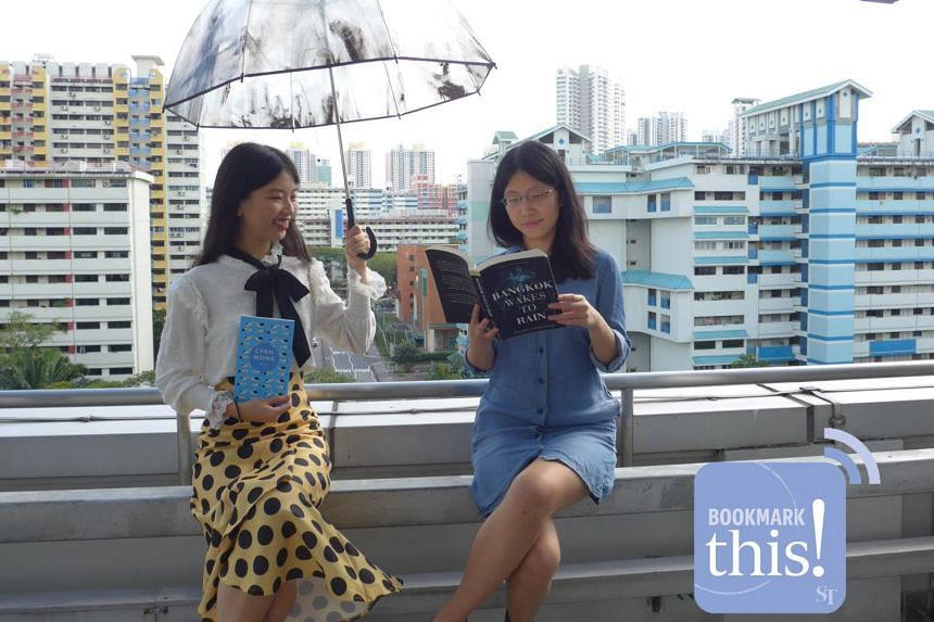 Listen to Bookmark This!, a new monthly podcast series where your hosts from The Straits Times - Olivia Ho (left) and Toh Wen Li - talk about titles in the headlines and recommend reads fresh off the press.