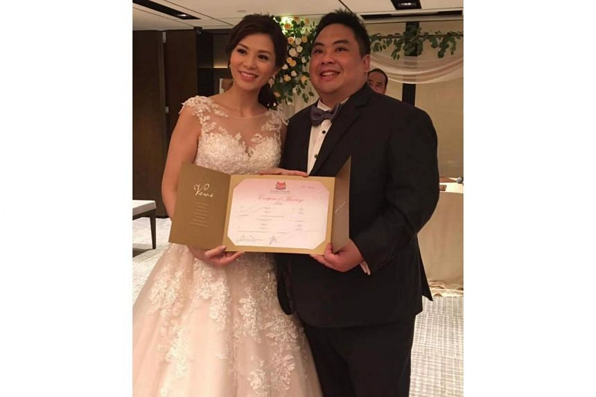 Mr Ben Goi married former actress Tracy Lee in 2017.
