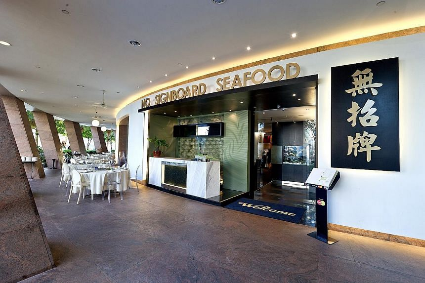 """Seafood restaurant operator No Signboard Holdings said the share purchase inadvertently resulted in two breaches - """"dealing in the shares of the company during the blackout period and the purchase of shares at a price which exceeded the share price c"""