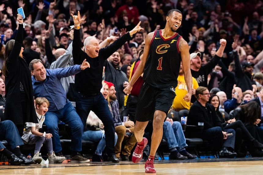 Rodney Hood in action for the Cleveland Cavaliers.