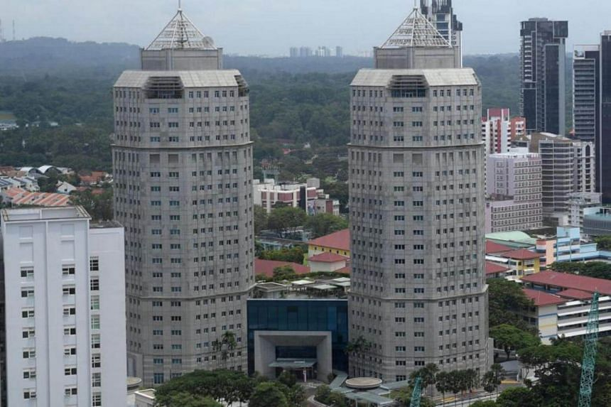 General view of the Ministry of Home Affairs (MHA) building. MHA said the maid's employer had been sensitised to the issue of radicalisation after reading about similar cases involving domestic workers.