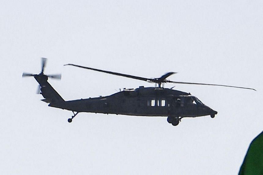 A UH-60 Black Hawk helicopter. The US military has provided the first 16 of a scheduled 159 UH-60 Black Hawks to the Afghan air force and its special forces.