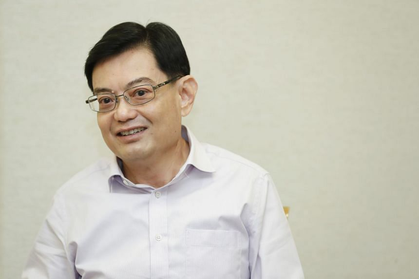 Finance Minister Heng Swee Keat said that he remains upbeat about the Republic's prospects this year.