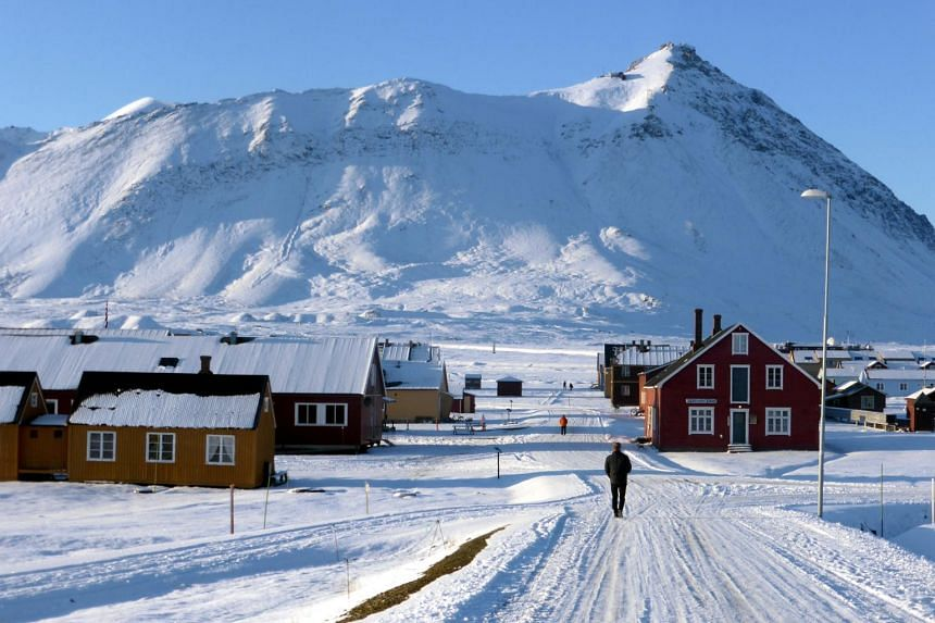 Average temperatures on Svalbard have leapt between three and five degrees Celsius since the early 1970s and could rise by a total of 10 deg C by 2100 if world greenhouse gas emissions keep climbing.