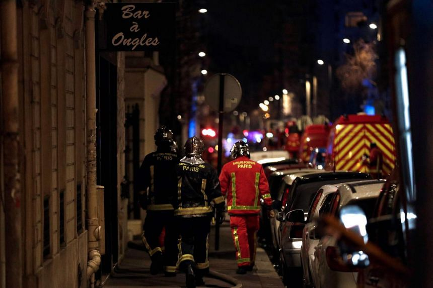 Around 200 firefighters were still at the scene in the early hours of Tuesday (Feb 5), battling the blaze and treating the injured.