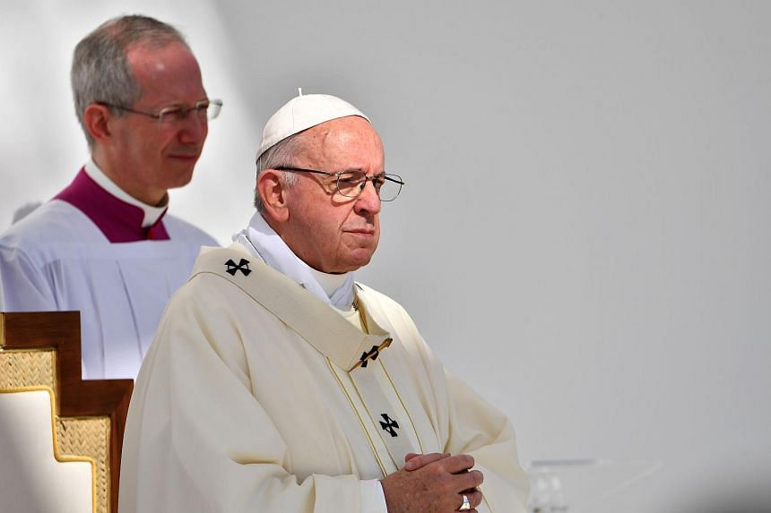 Pope Francis said that he, too, wanted to move forward on the issue of the clerical abuse of nuns.