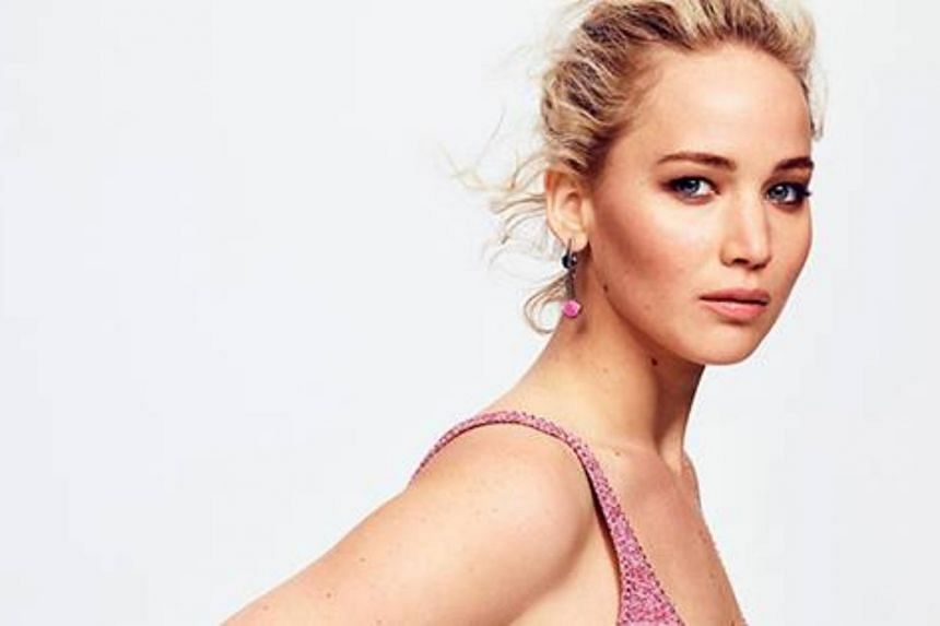 """Actress Jennifer Lawrence was spotted wearing a """"massive ring"""" and enjoying what appeared to be a celebratory dinner with Cooke Maroney at a French restaurant in New York City."""