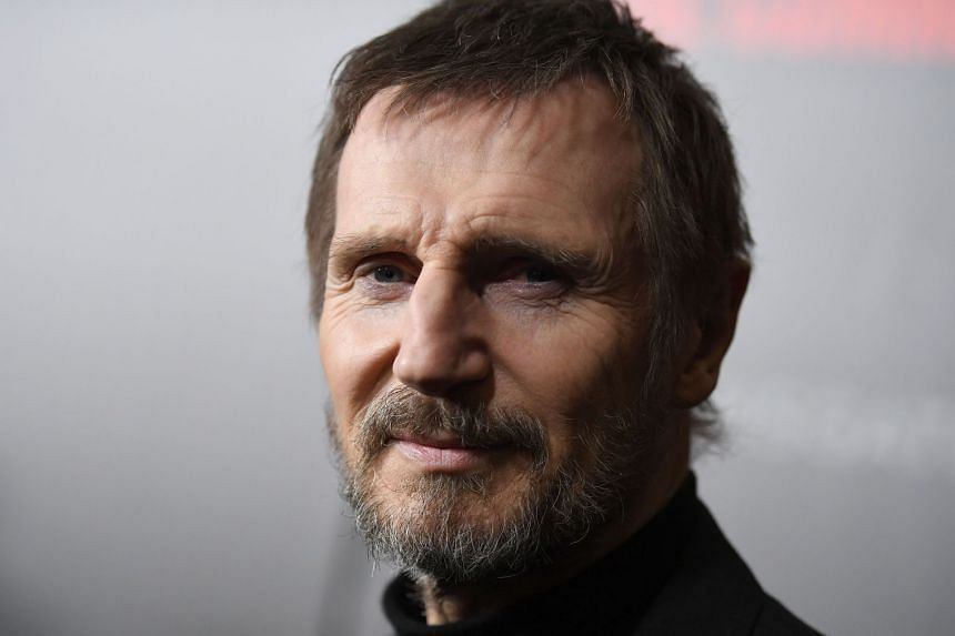 Neeson (above) made the remarks while promoting his new thriller Cold Pursuit, about a father seeking revenge after his son is murdered.