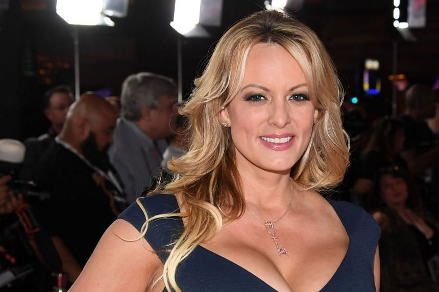 Stormy Daniels attends the 2019 Adult Video News Awards on Jan 26, 2019.