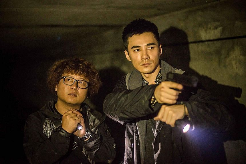 Nadou (above left) and Jay Shih are two assassins on their way to complete a final mission before retiring.
