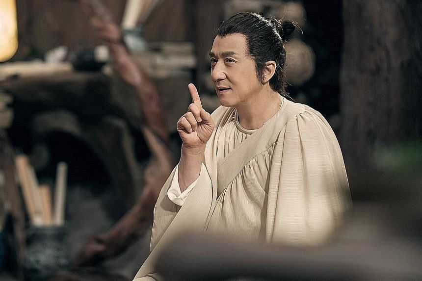 Jackie Chan is demon hunter Pu Songling in The Knight Of Shadows: Between Yin And Yang.