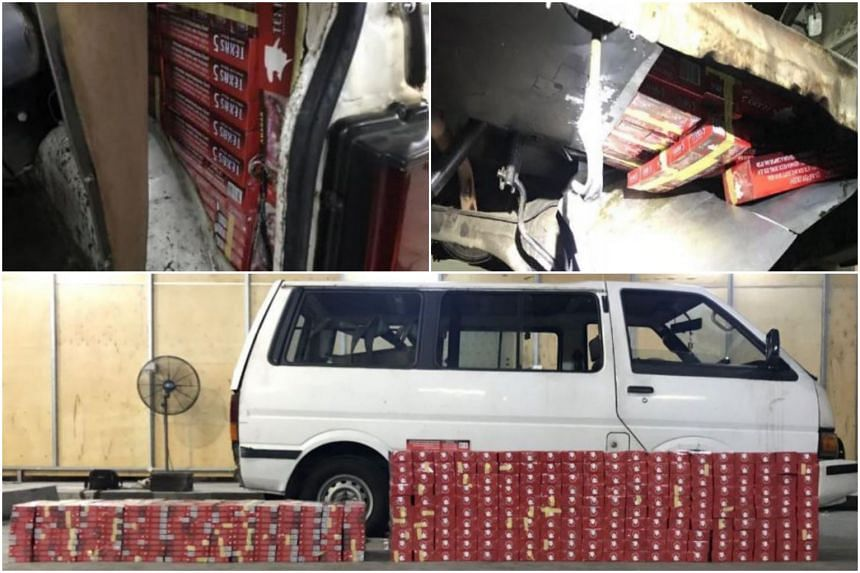 Twenty-five drivers were caught after being lured by such online advertisements to smuggle duty-unpaid cigarettes from Malaysia in 2018.