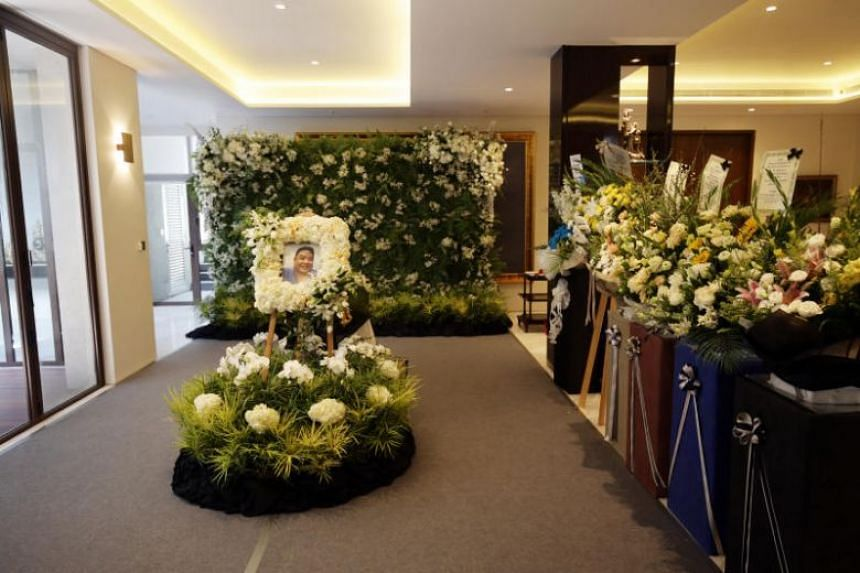 Mr Ben Goi's wake at his house in Bukit Timah on Feb 4, 2019.