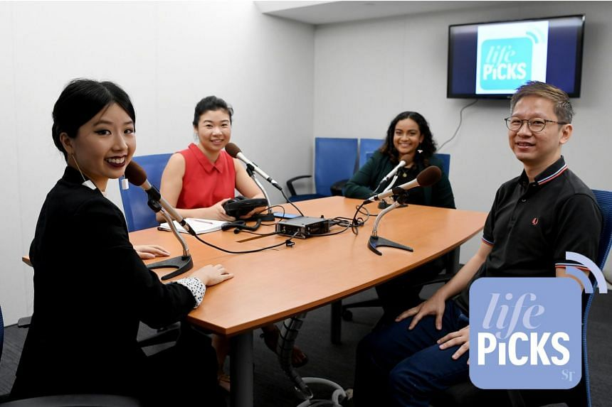 (From left) ST's Olivia Ho is with Life Picks host Melissa Sim, and colleagues Anjali Raguraman and Boon Chan as they give you the best lifestyle tips this week.