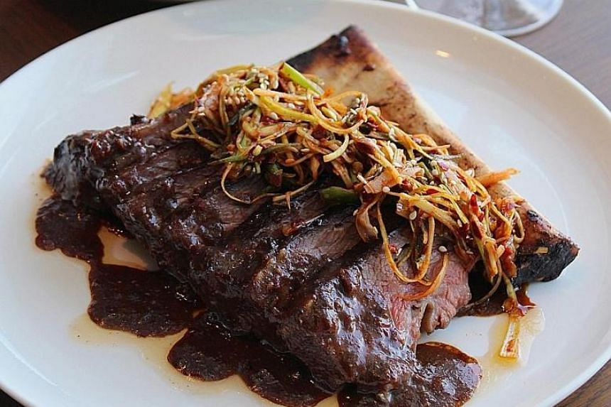 Level33's spicy short ribs