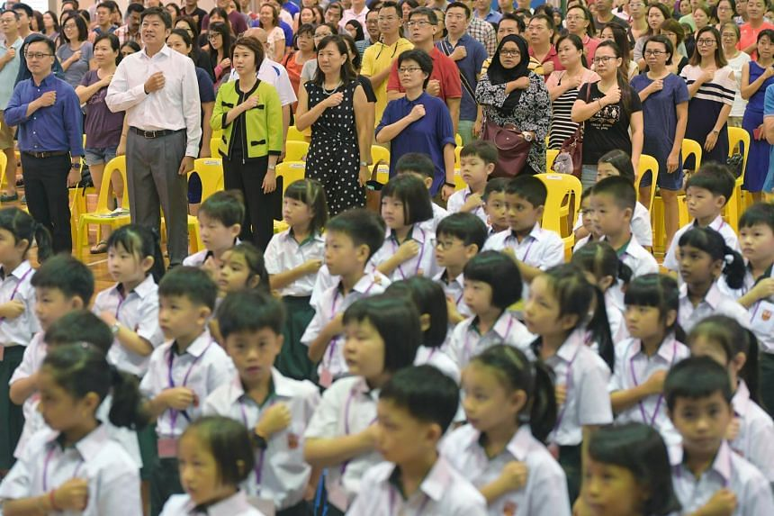 Many adults noted that it was important for their children to feel safe and secure in school, to have friends and to be able to follow the school routines.