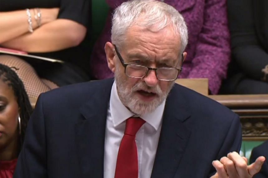 British opposition leader Jeremy Corbyn wrote that the demands should be put into law before Britain leaves the EU.