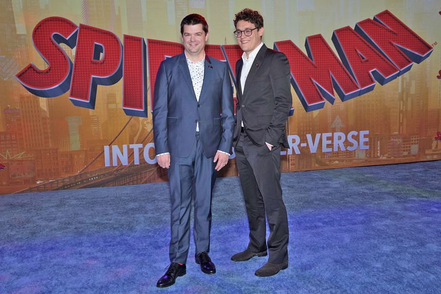 Besides writing and directing the 2014 hit, The Lego Movie, film-making duo Chris Miller (left) and Phil Lord also produced Spider-Man: Into The Spider-Verse (2018).