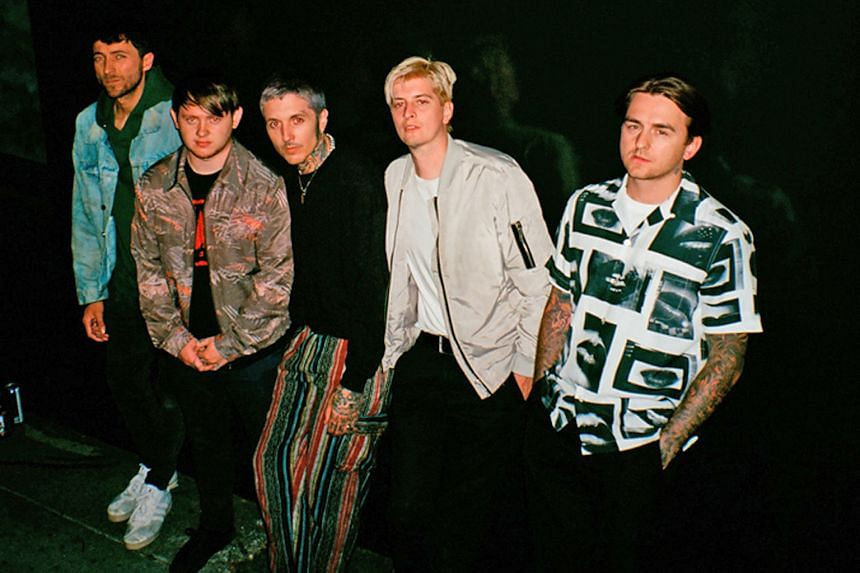 Sheffield quintet Bring Me the Horizon score with Amo, their first album to top the British charts.