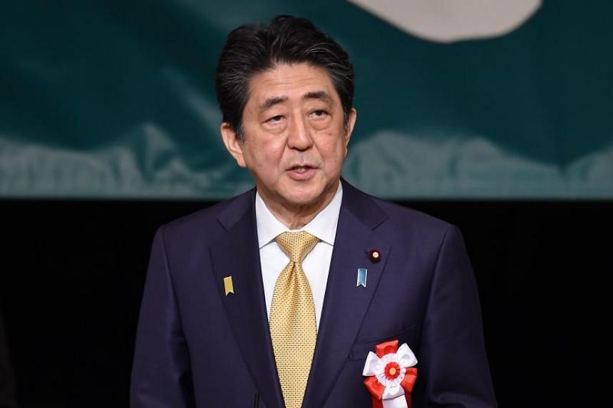 Japan's Prime Minister Shinzo Abe did not explicitly demand sovereignty of the Southern Kuril islands.
