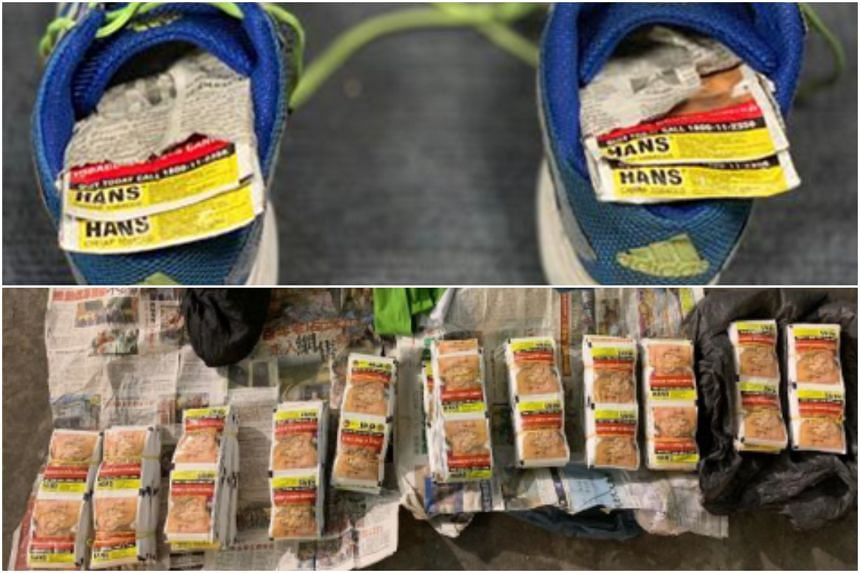 More than 1,000 packets of chewing tobacco were seized from a 50-year-old Malaysian motorcyclist at Woodlands Checkpoint on Thursday (Feb 7).