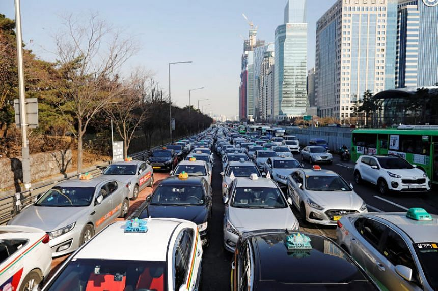 The Seoul Metropolitan Government said it issued a business licence to a taxi franchise company, Tago Solutions, which consists of about 50 companies with 4,500 taxis.
