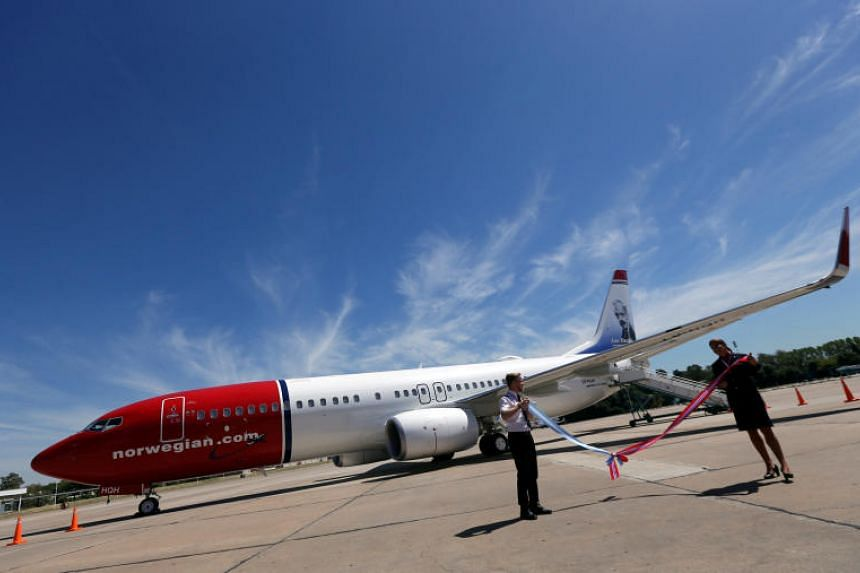 Norwegian Air reported a fourth-quarter loss.