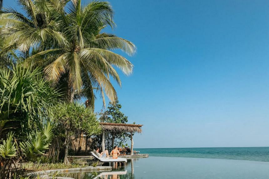 Song Saa private island is a luxury resort 45 minutes by speedboat from Cambodia's coast.