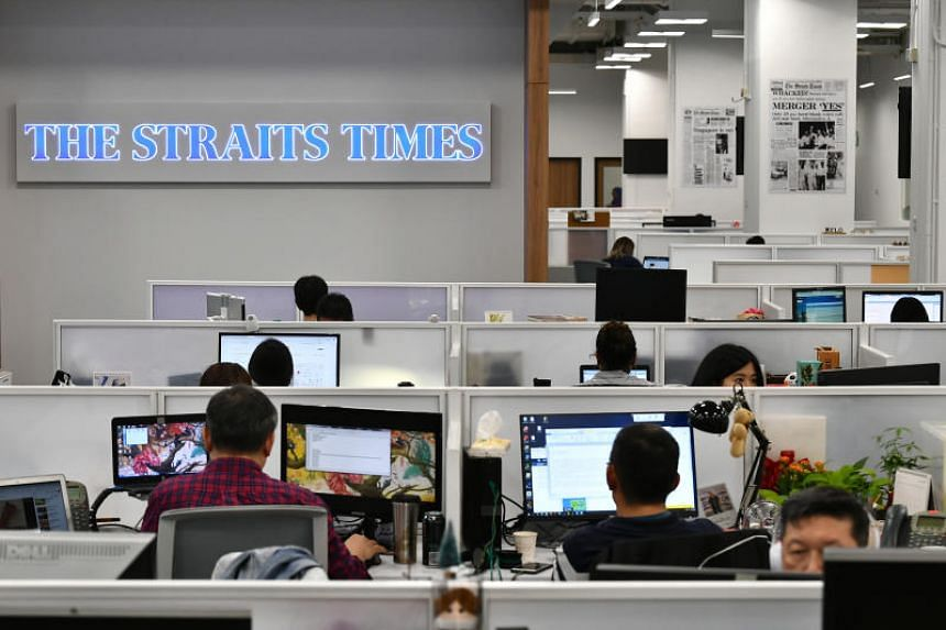 ST moved back to the newsroom in the second half of January after it underwent a months-long revamp.