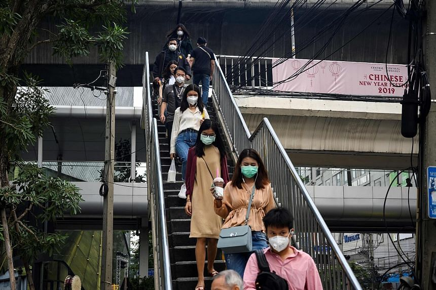 The bad air in Bangkok has forced people young and old to resort to wearing face masks. The smog also forced the authorities to issue an unprecedented order to shut nearly 450 schools last month.