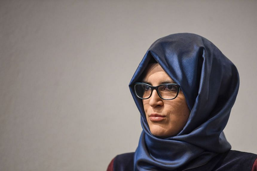 Ms Hatice Cengiz previously rejected an invitation by US President Donald Trump to the country as she thought it was aimed at influencing public opinion in his own favour.