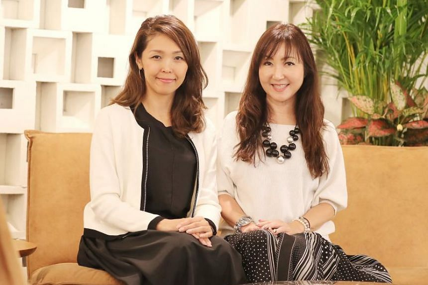 Destini IS co-founders Hiromi Kiuchi (left) and Hitomi Enzo. The matchmaking agency will be officially open only on Feb 15, 2019, but the duo have received some 200 e-mail inquiries, mostly from local men in their 20s.