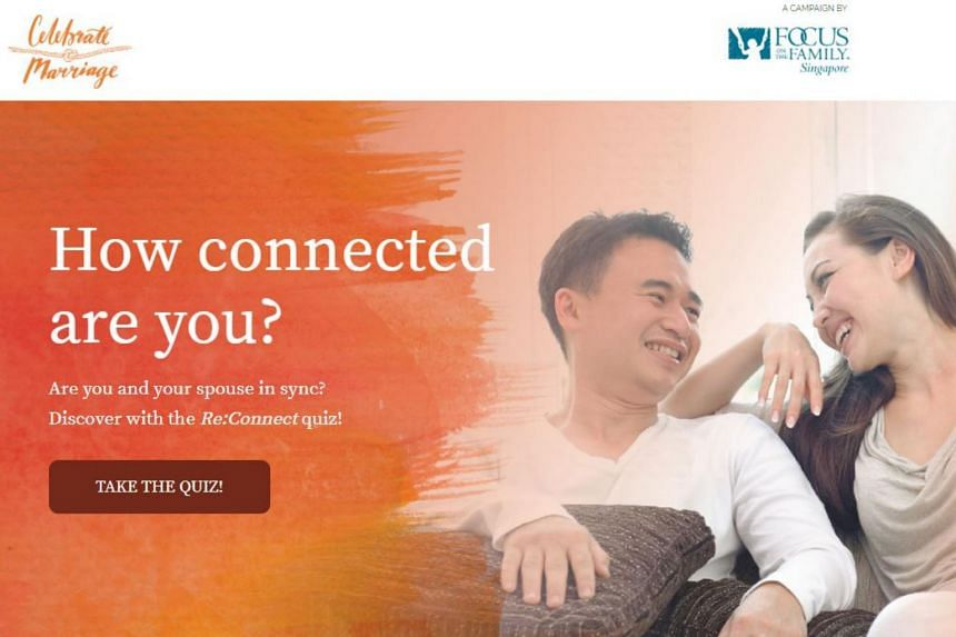 Online quiz, tips on boosting intimacy are part of this year's Celebrate Marriage campaign