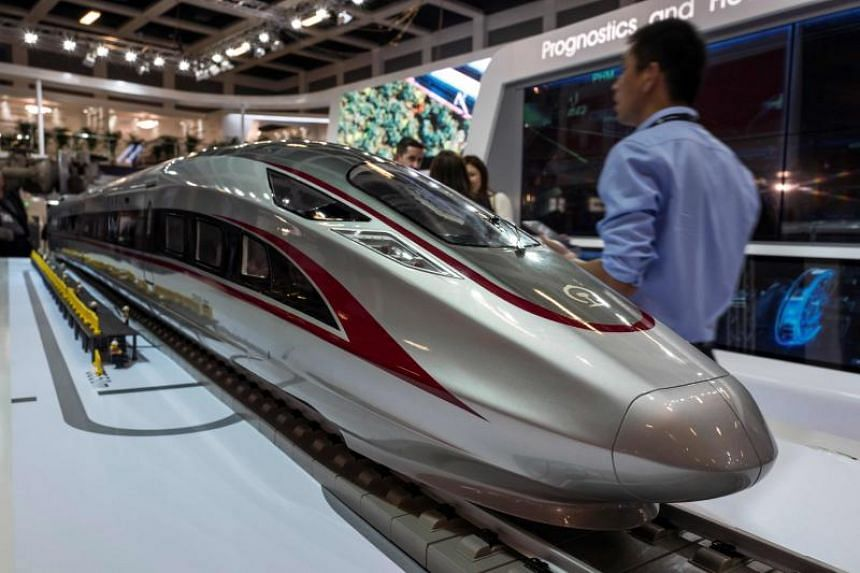 China's state-backed CRRC is the world's largest train manufacturer, with locomotives and wagons ordered across the globe.