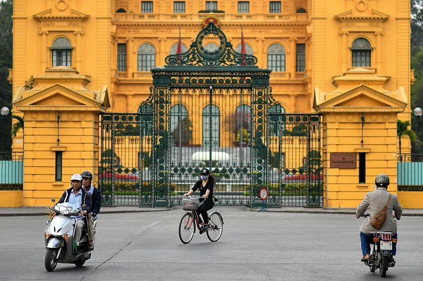 The presidential palace in Hanoi. The US and North Korean leaders are set to meet in the Vietnamese capital later this month.