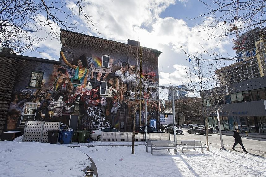 Bruce McArthur in a photo posted on his social media account. He has pleaded guilty to killing and dismembering eight men from 2010 to 2017. A mural in the Gay Village area of Toronto, where Bruce McArthur met his victims. McArthur, a landscaper and