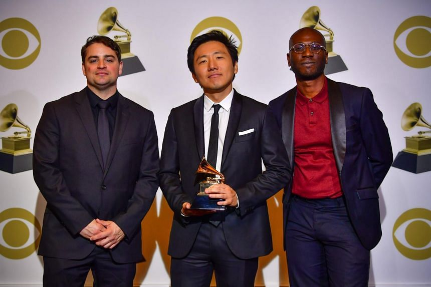 Hiro Murai, Ibra Ake and Jason Cole picked up the Grammy for Best Music Video for Childish Gambino's This is America.