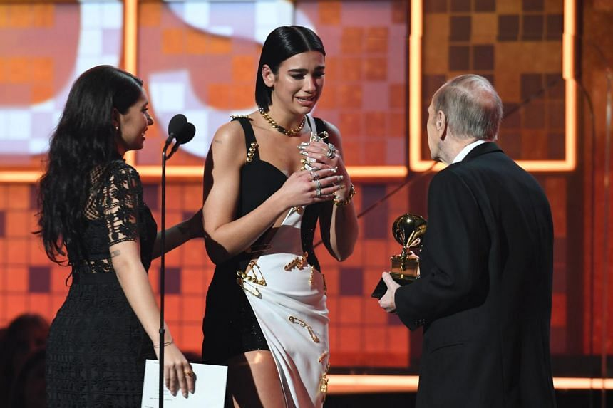 Grammys 2019: Pop star Dua Lipa crowned as Best New Artist