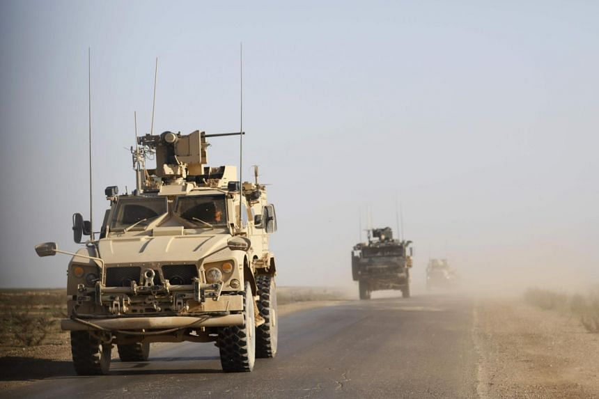 US Army General Joseph Votel, head of the US Central Command, said they are now clearing out unneeded equipment, as moving people is easier than moving equipment.