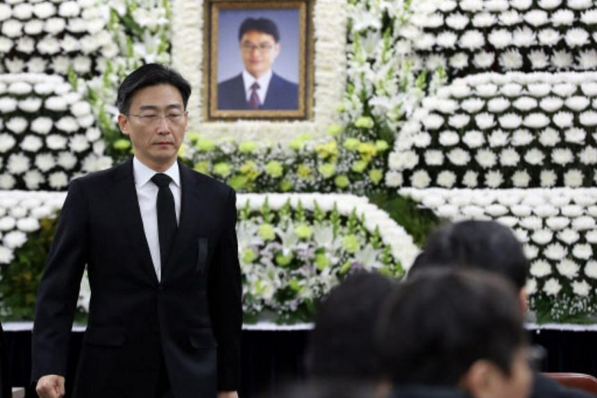 Dr Yoon Han-deok, head of the National Emergency Medical Centre, was found dead on Feb 4, during the Chinese New Year holiday.