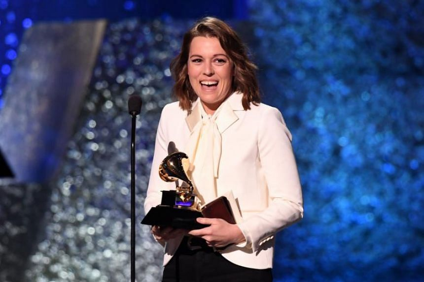 Brandi Carlile took home three early trophies, including two for her Americana music single The Joke.