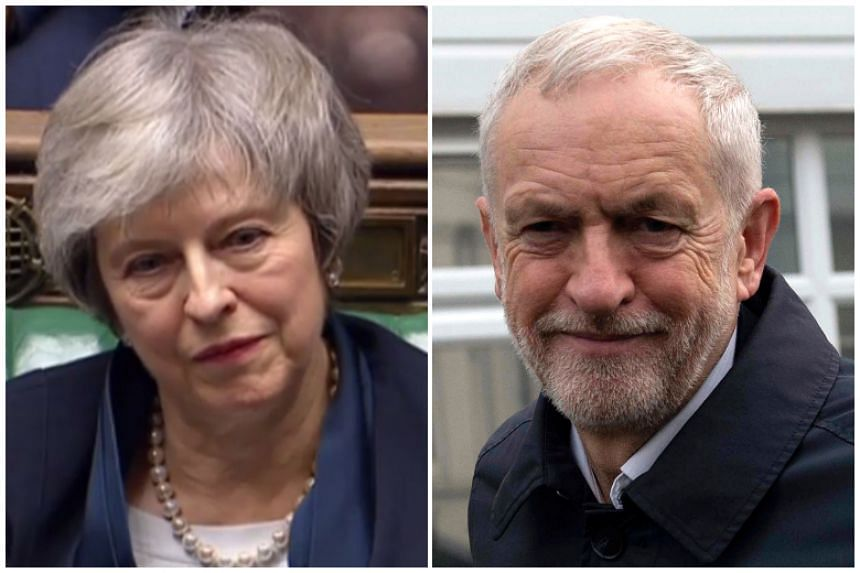 Theresa May wrote a conciliatory letter to opposition Labour Leader Jeremy Corbyn, after he proposed setting her a new deadline of Feb 26 for winning lawmakers' backing for a final exit deal.