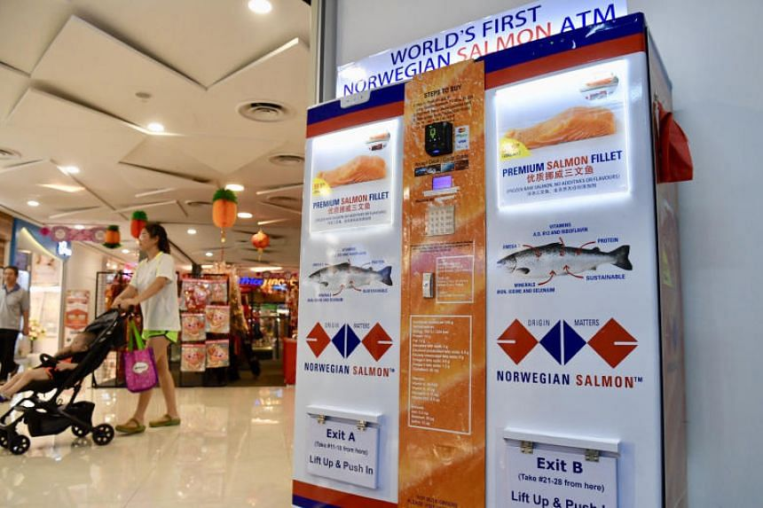 Salmon lovers can now get the fish from vending machines found at several locations around the island.