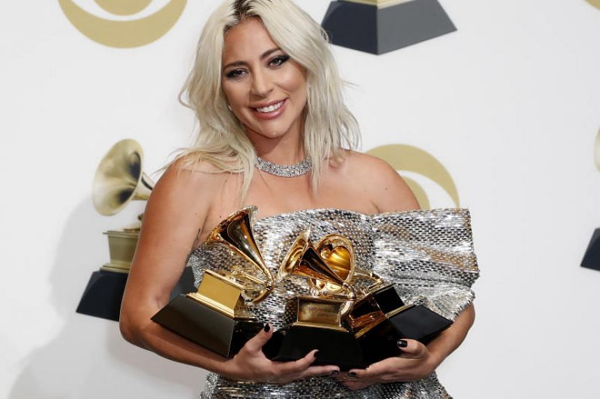 Pop favourite Lady Gaga won the Grammy for best pop duo/group performance, and for best song written for visual media for Shallow, which was featured on the soundtrack of the film A Star Is Born.
