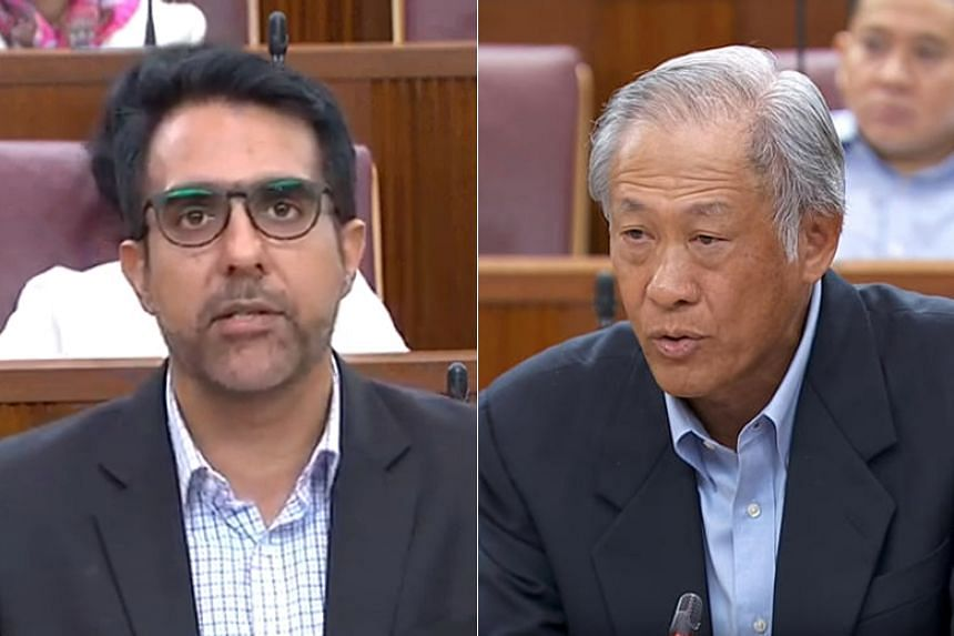 """In reply to Workers' Party chief Pritam Singh, who said that the zero-fatality goal goal was """"unrealistic"""", Defence Minister Ng Eng Hen said that the Singapore Armed Forces still has to aim for it."""