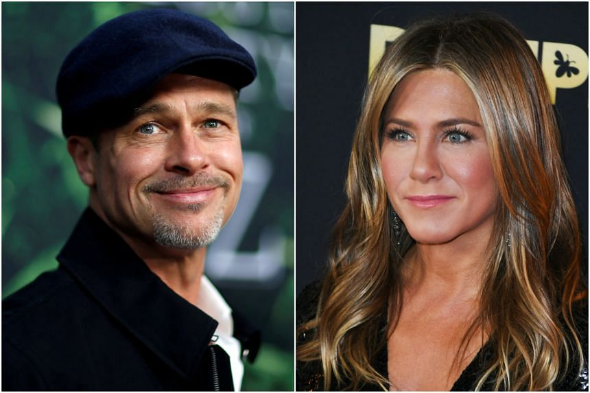 Brad Pitt Shows Up At Jennifer Aniston S Birthday Bash