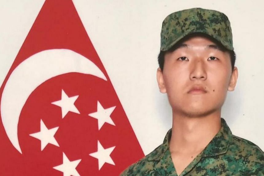 Corporal First Class Liu Kai, 22, died on Nov 3, 2018, after a Bionix armoured vehicle reversed into a Land Rover he was driving.